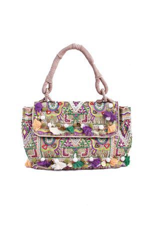 Handmade bag decorated with tassels Christophe Sauvat | 31 | DOCTOR BAGVERDE