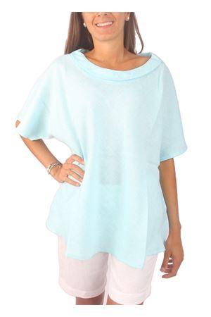 Pure linen t-shirt Colori Di Capri | 20000031 | BLOUSE ANELLOTURCHESE