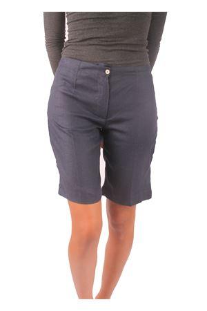 Blue linen bermuda shorts Colori Di Capri | 9 | CORTODONNABLU
