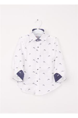 Baby cotton shirt Colori Di Capri | 6 | DELFINI BABYBLU