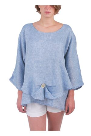 Light blue linen tunic Colori Di Capri | 5032233 | LONDRAAZZURRO