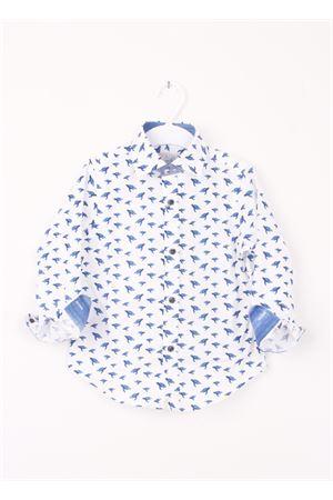Baby cotton shirt Colori Di Capri | 6 | TURTLES BABYBLU