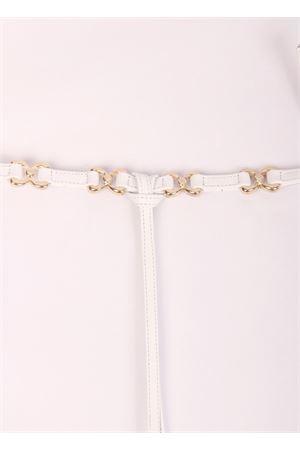 White sandals with comfortable heel Cuccurullo   5032256   FARFALLA HEELBIANCO