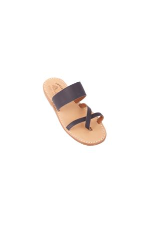 Leather Capri sandals for baby Cuccurullo | 5032256 | FASCIA LARGABLU