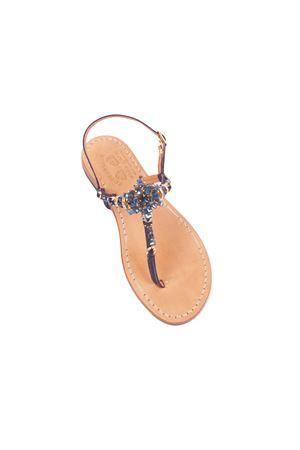 Blue Capri sandals Cuccurullo | 5032256 | FLOWERBLU