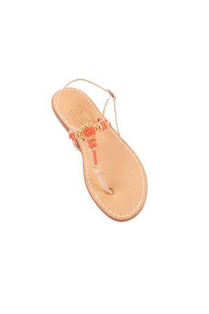 Sandali capresi con perline Cuccurullo | 5032256 | GIADAARANCIO