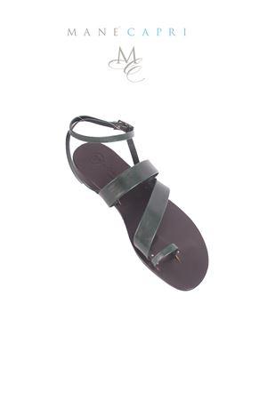 Handmade Capri Sandals Da Costanzo | 5032256 | ANELLODOPPIA FASCIAVERDE