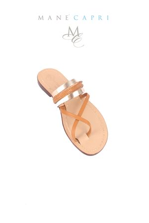 Da Costanzo capri sandals Da Costanzo | 5032256 | INCROCIO 2323ORO