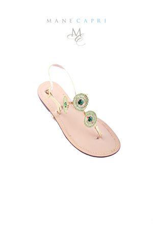 Sandali capresi gioiello Da Costanzo   5032256   S2315VERDE
