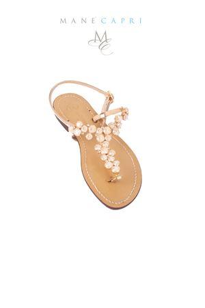 Pink Capri jewel sandals Da Costanzo | 5032256 | S3099MATTROSE