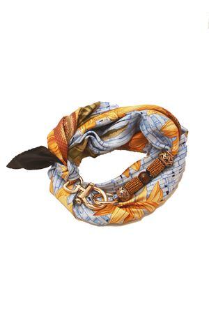 Sciarpa in seta con girasoli Grakko Fashion | -709280361 | GRSUNAZZURRO
