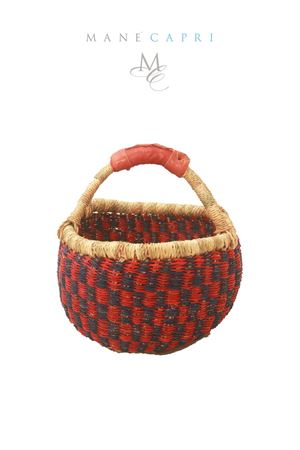 Basket straw bag Grakko Fashion | 31 | PANIERE SMALLROSSO