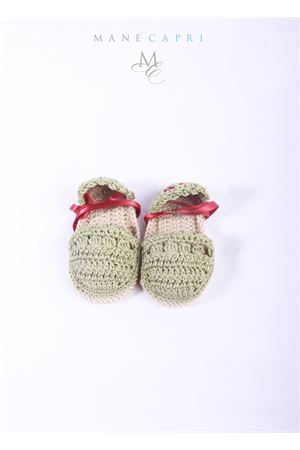 Baby embroidered shoes La Bottega delle Idee | 12 | E146FIENO/BORDEAU
