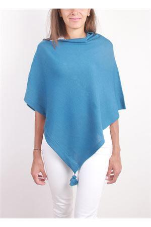 Poncho caprese da donna in pura lana La Bottega delle Idee | 52 | PBWOOLA9
