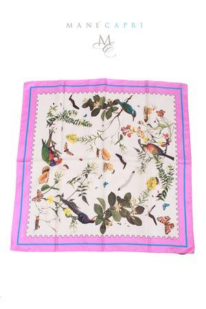 Silk foulard Tropicapri Laboratorio Capri | -709280361 | TROPICAPRI FOULARDROSA