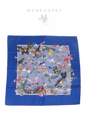 Silk foulard Tropicapri Laboratorio Capri | -709280361 | TROPICAPRI RIGA BLUBLU