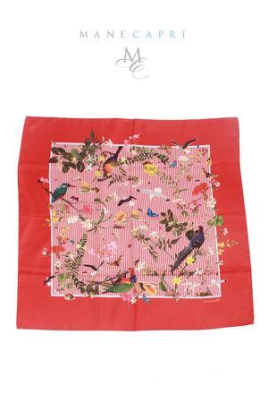 Silk foulard Tropicapri Laboratorio Capri | -709280361 | TROPICAPRI RIGAREDROSSO