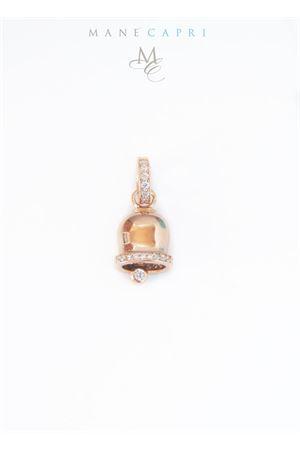 Campanella di Capri portafortuna in argento e zirconi Manè Capri | 5032249 | MANEBELLROSY2ROSA