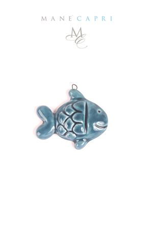 Ceramic tile fish shaped Manè Capri | 20000004 | PESCE TILEBLU