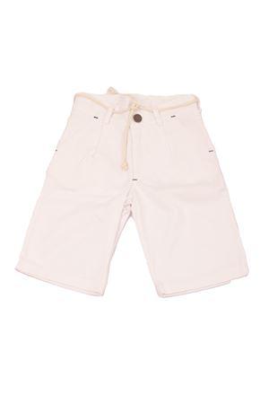 White cotton bermuda for babyboy Opililai | 9 | OPI124BIANCO