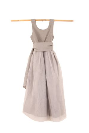 Sartorial grey dress Opililai | 5032262 | OPI95GREY
