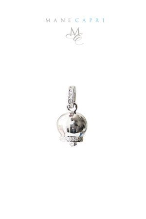 Tipical silver Capri bell Pierino Jewels | 5032249 | 3045AZIRCONI