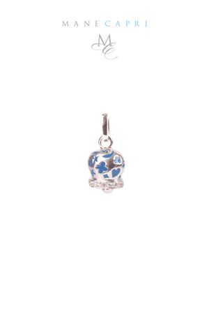Lucky Capri bell with zircons Pierino Jewels | 5032249 | 3053CBLU