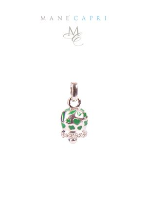 Lucky Capri bell with zircons Pierino Jewels | 5032249 | 3054CVERDE