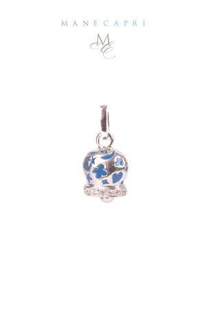 Lucky Capri bell with zircons Pierino Jewels | 5032249 | 3055CBLU