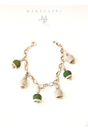 Bracelet with green and white Capri bells Pierino Jewels | 36 | PIERINO LIMITED EDITIONVERDE