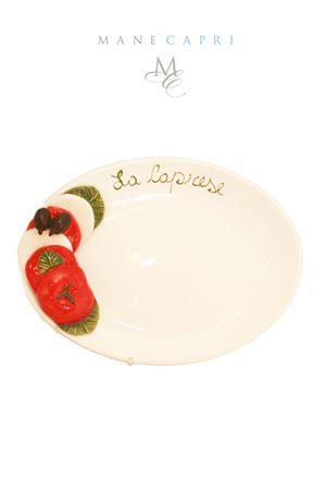 Ceramic serving plate caprese salad Sea Gull Capri | 20000026 | CAPRESE BMED CM 30X22
