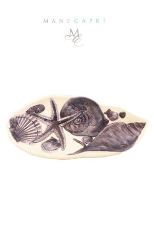 Ceramic spoon rest The Sea Gulll Capri Sea Gull Capri | 20000026 | PMEST BLU CONCCONC BLU
