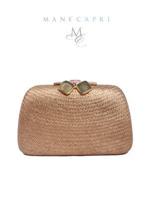 Gold elegant clutch with jewel closure Serpui | 31 | FLOWER CLUTCHORO