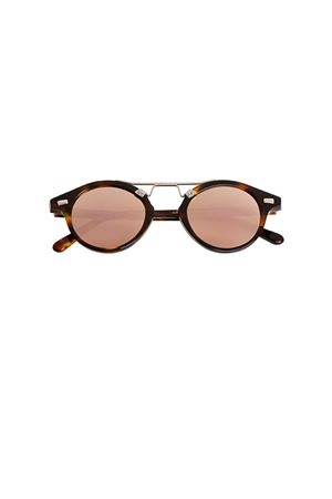 Spektre sunglasses Cosmopolis model with pink mirrored lenses Spektre | 53 | COSMOPOLISHAVANA ROSE GOLD