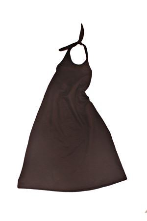 Long black dress for baby girl Yporque | 5032262 | YP86NERO