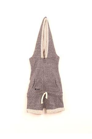 Short grey jumpsuit Yporque | 19 | YP88GREY