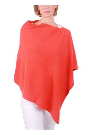 Wool and cashmere poncho Art Tricot | 52 | 700PARANCIO