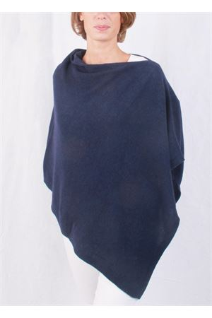 Wool and cashmere poncho Art Tricot | 52 | 700PBLU