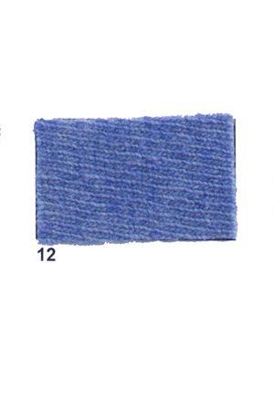 Giacca con frange in cachemire e lana celeste Art Tricot | 3 | D7171 FRINGE12 CELESTE