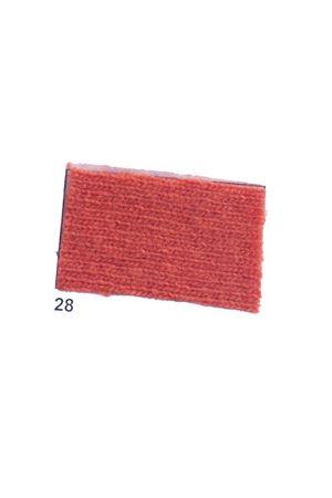 Giacca con frange in cachemire e lana arancione Art Tricot | 3 | D7171 FRINGE28 ARANCIONE