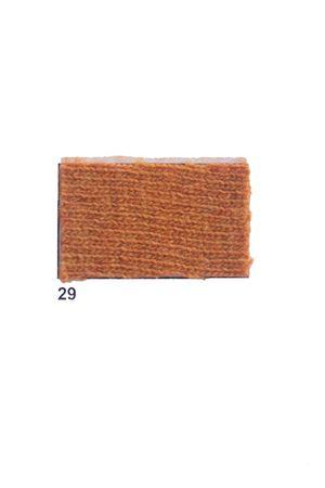 Giacca con frange in cachemire e lana senape Art Tricot | 3 | D7171 FRINGE29SENAPE