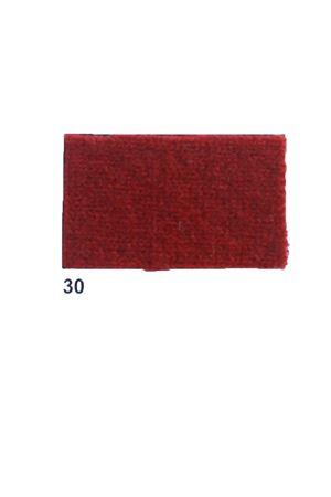 Giacca con frange in cachemire e lana bordeau Art Tricot | 3 | D7171 FRINGE30BORDEAUX