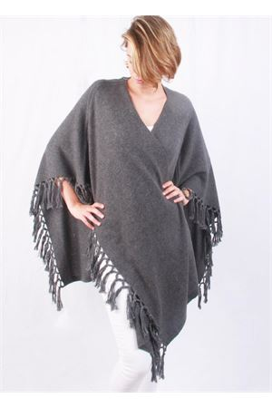 Cachemire and wool fringes grey jacket Art Tricot | 3 | D7171 FRINGEGRIGIO