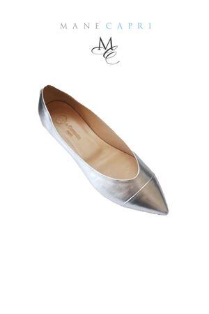 Silver ballerina shoes Da Costanzo | 5032261 | PUNTA SILVERARGENTO