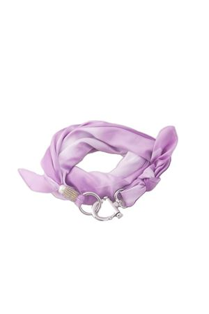 Liliac scarf with hook closure Grakko Fashion | -709280361 | GRIVVIOLA