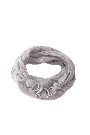 Sciarpa in puro lino con ganci Grakko Fashion | -709280361 | GRLIN CELCELESTE