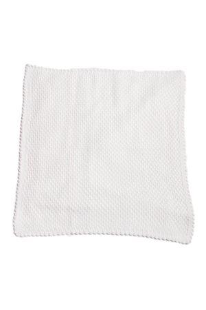 Coperta in lana merino per culla Il Filo di Arianna | 20000039 | COP04BIANCA