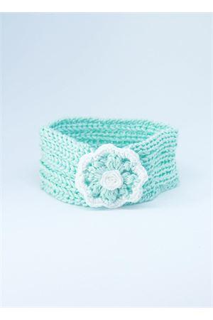 Fascia elasticizzata in cotone color verde Tiffany Il Filo di Arianna | 20000041 | FAS COT 03GHIACCIO/VERDE
