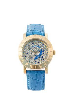 Capri Blue Lizard Watch L