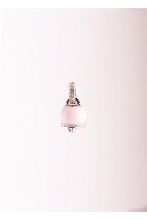 Ciondolo portafortuna a forma di Campanella rosa chiaro Manè Capri   5032249   MANE BELL CLROSA